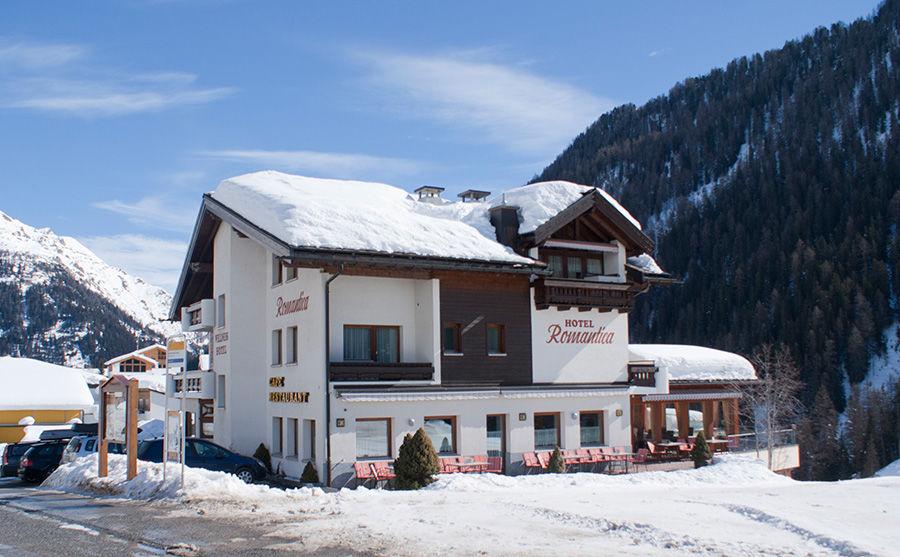 Samnaun Hotel Romantica im Winter