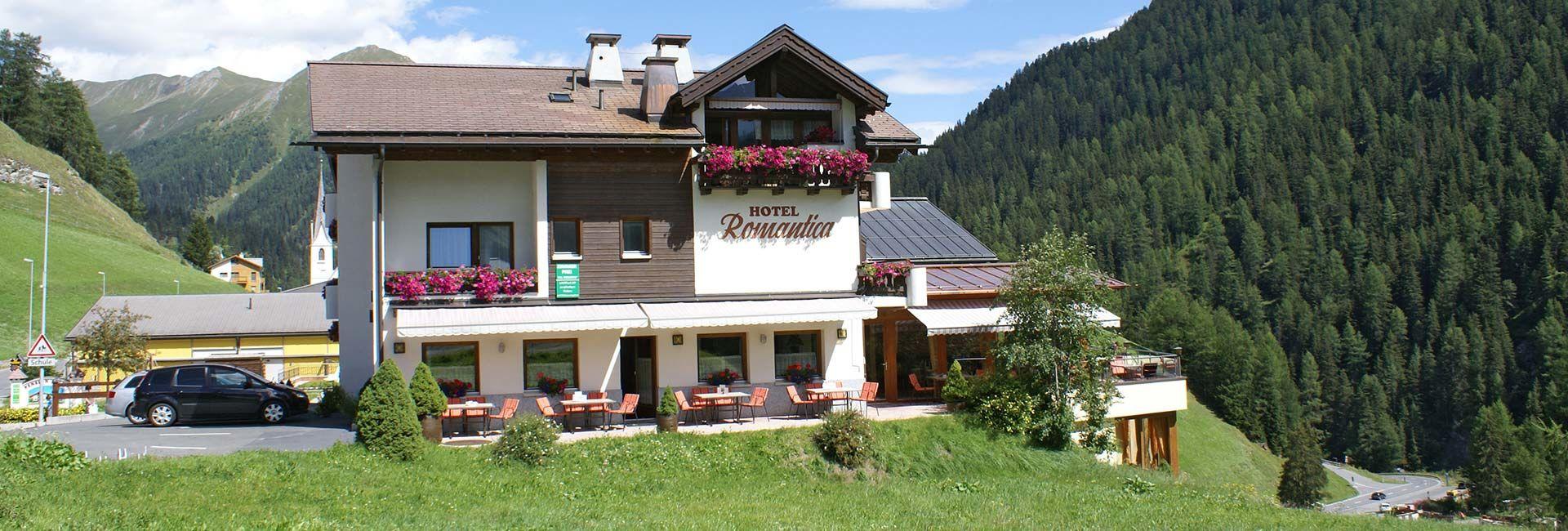 Samnaun - Hotel Romantica, Restaurant, Dependance