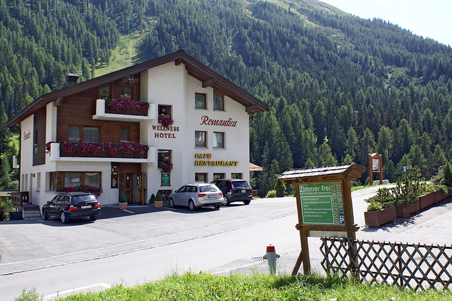 Hotel Romantica in Samnaun
