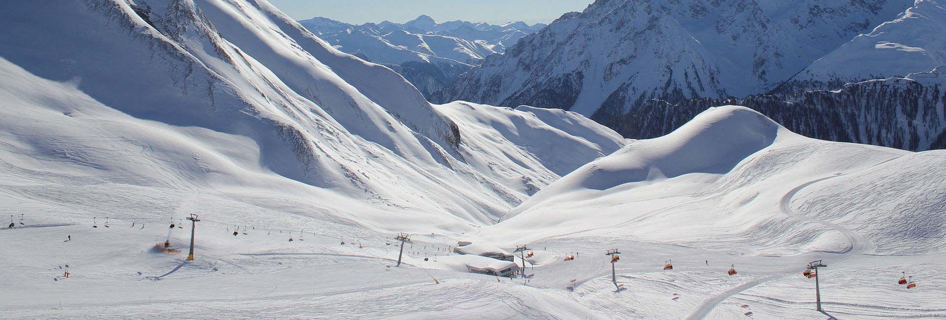 Samnaun Skigebiet