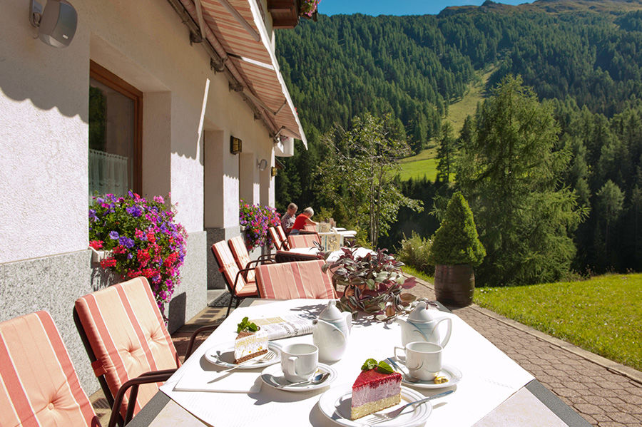Sonnenterrasse Samnaun Hotel Romantica