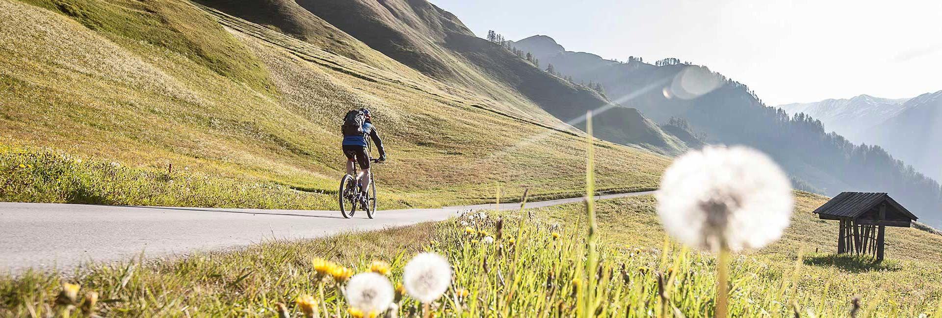 Samnaun Bike Angebot Hotel Romantica