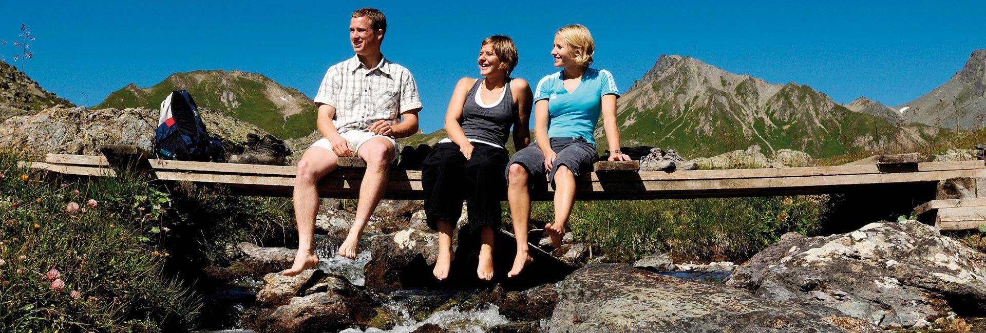 Sommerurlaub in Samnaun