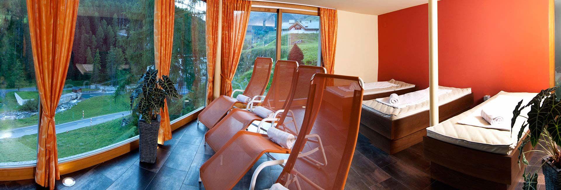 Samnaun Wellness im Hotel Romantica