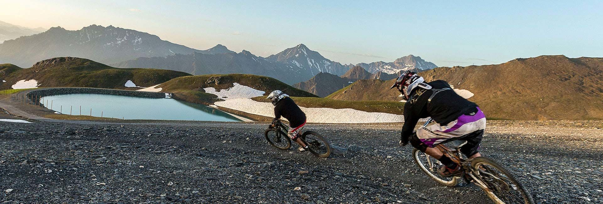 Mountainbiken in Samnaun