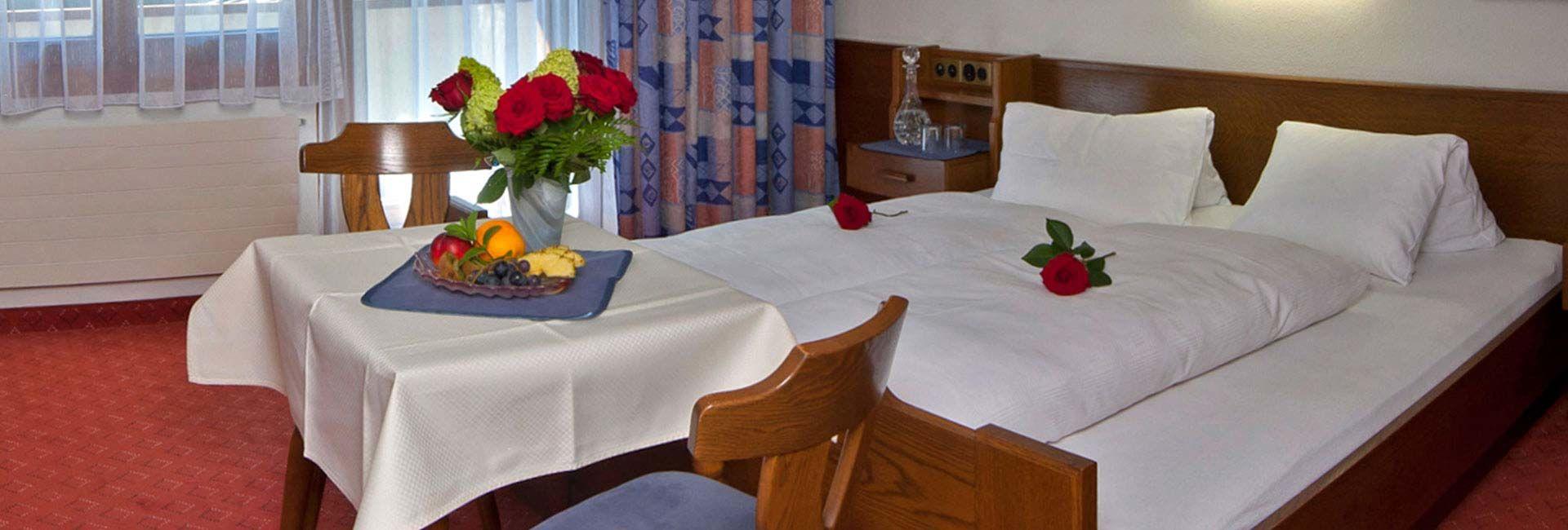 Samnaun Zimmer im Hotel Romantica