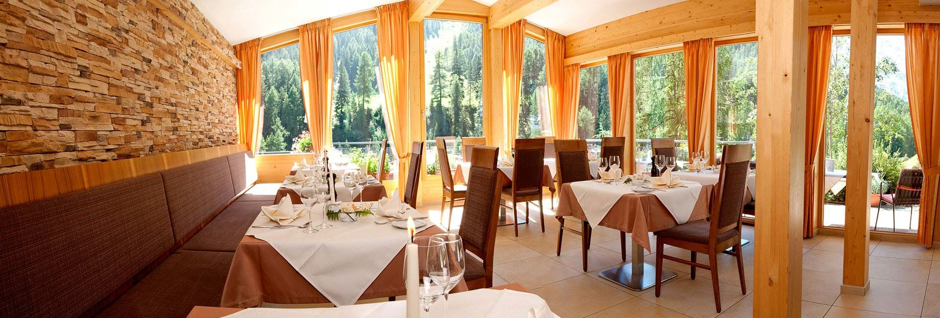 Samnaun - Speisesaal Hotel Romantica