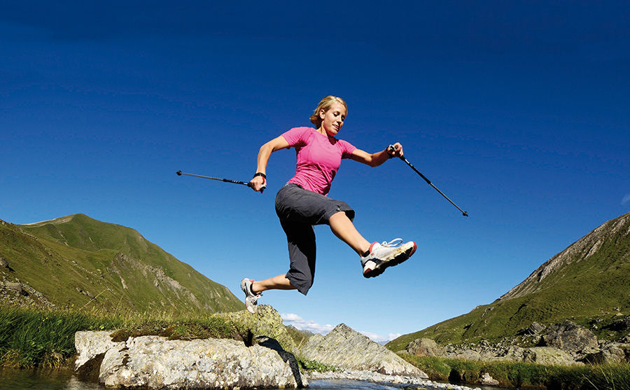 Nordic Walking in Samnaun