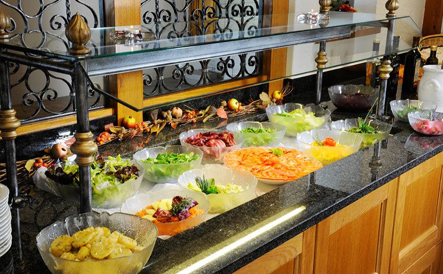 Salatbuffet Hotel Romantica